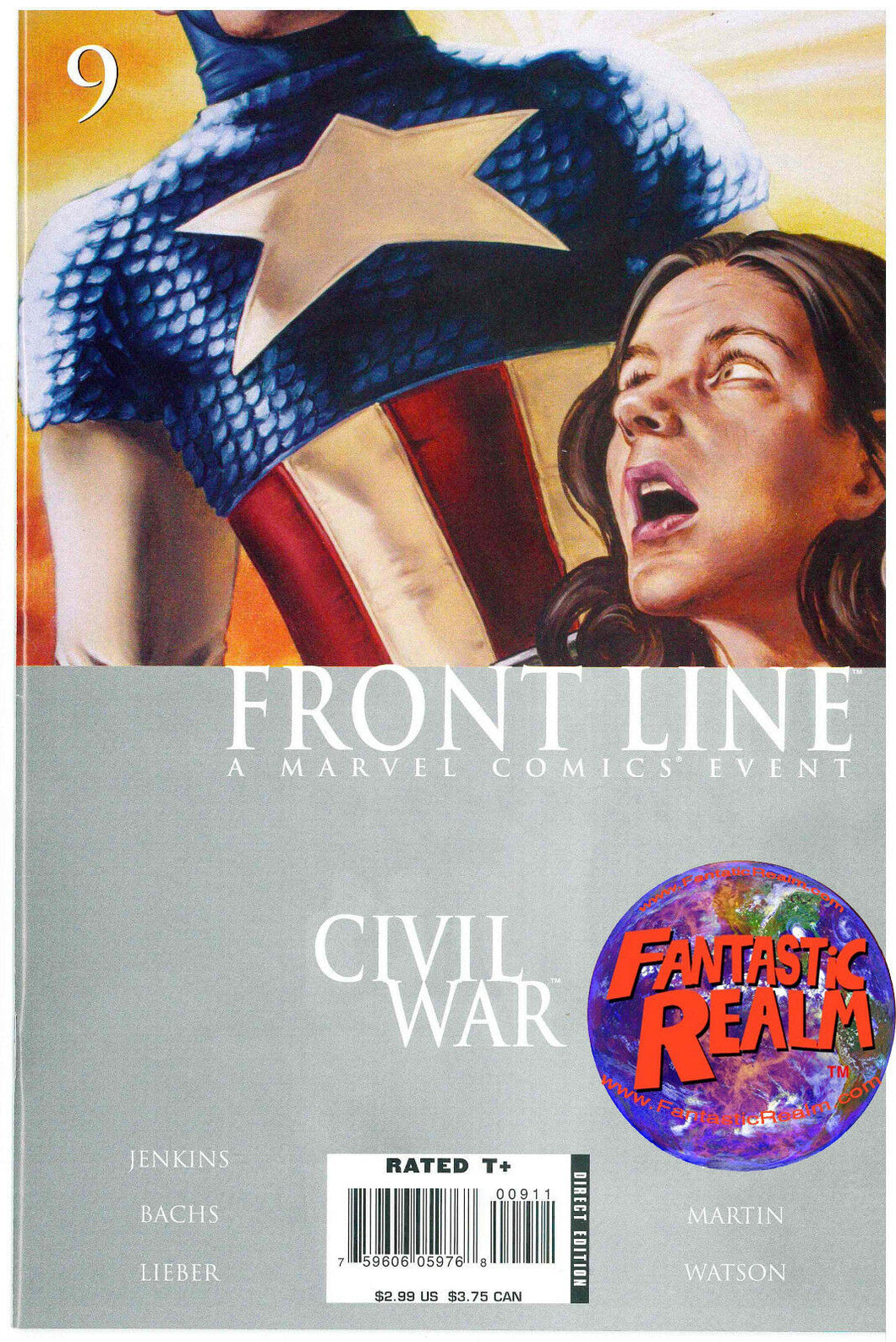 CIVIL WAR: FRONT LINE #9, 10, 11 (2006) MARVEL COMIC
