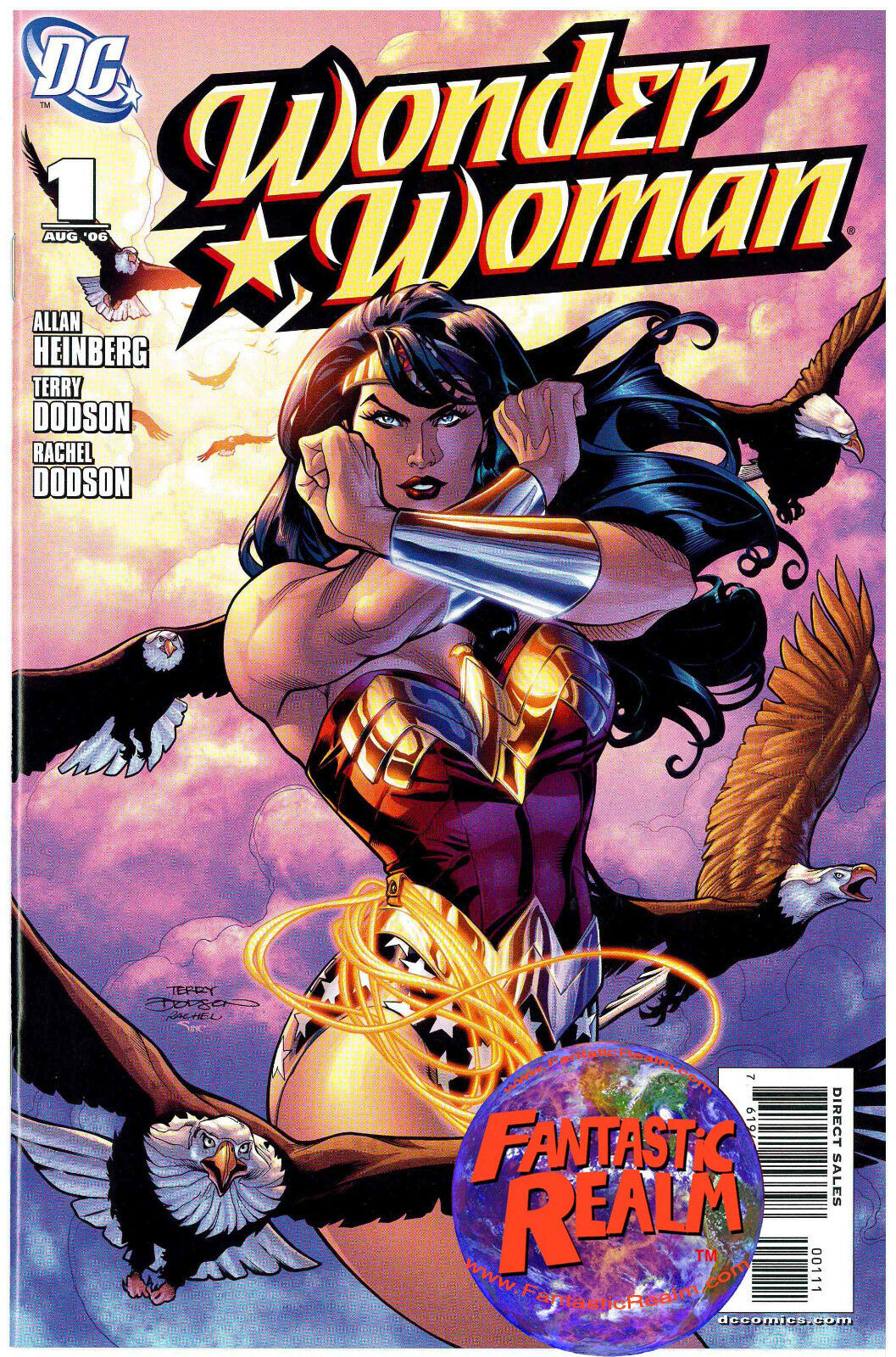 WONDER WOMAN #1, 2, 3, 4 & 5 DODSON COVERS DC COMICS