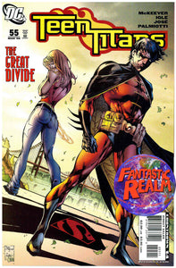 TEEN TITANS # 55 & 57  JUSTICE LEAGUE DC COMICS