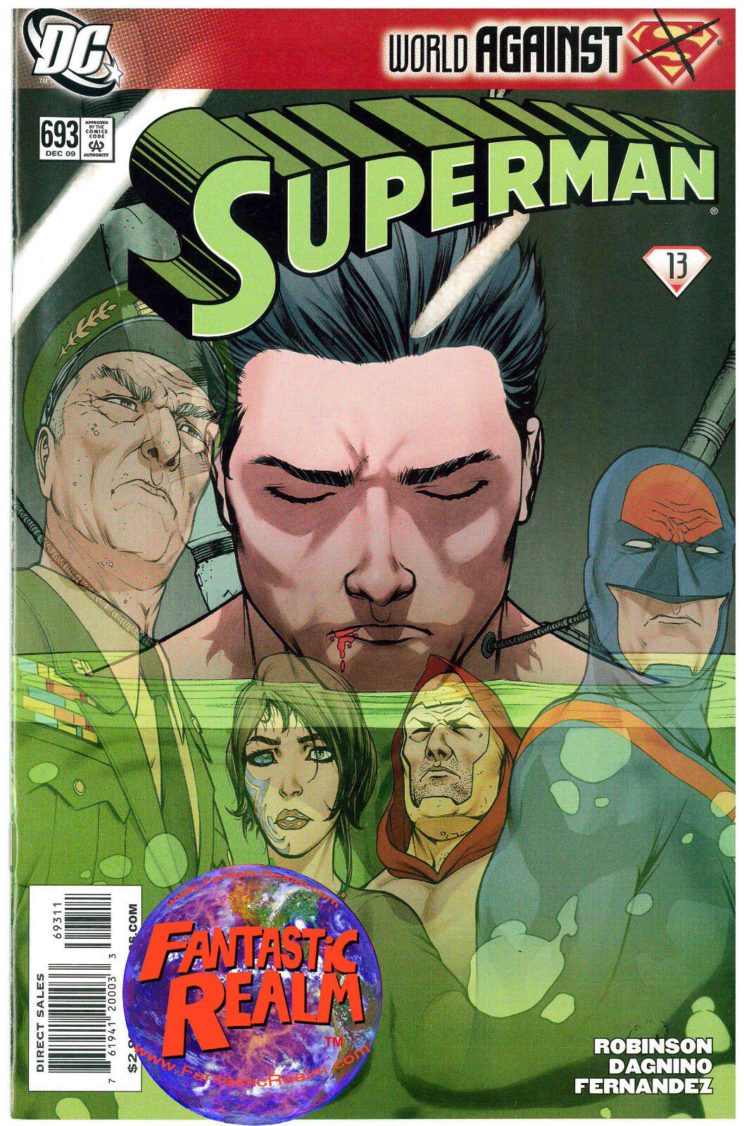 SUPERMAN: WORLD AGAINST SUPERMAN #693 DC COMICS