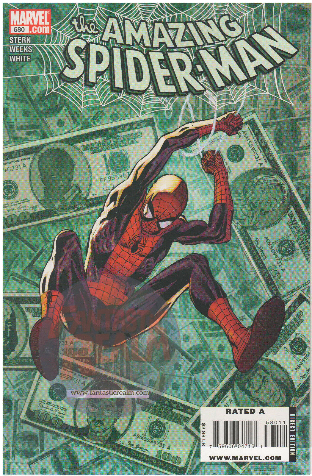 The Amazing Spider-Man #580  (2009) Marvel Comics