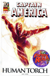 CAPTAIN AMERICA #46 HUMAN TORCH 70th ANNIVERSARY VARIANT MARVEL COMICS