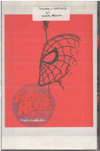Load image into Gallery viewer, SENSATIONAL SPIDER MAN HC #1 SIGNED WITH ORIGINAL ART-SKETCH BY ANGEL MEDINA
