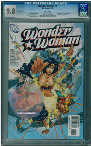 Wonder Woman #1 Variant Cover (Aug 2006, DC) CGC 9.8