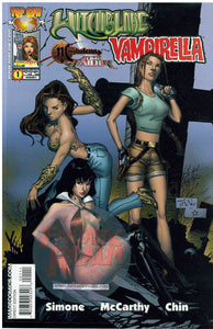 Witchblade Magdalena Tomb Raider Vampirella #1 (2005) Top Cow/Image