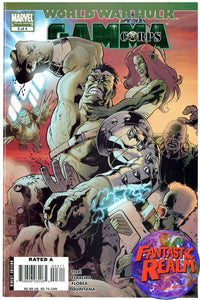 WORLD WAR HULK #3 GAMMA CORP (2007) MARVEL COMICS