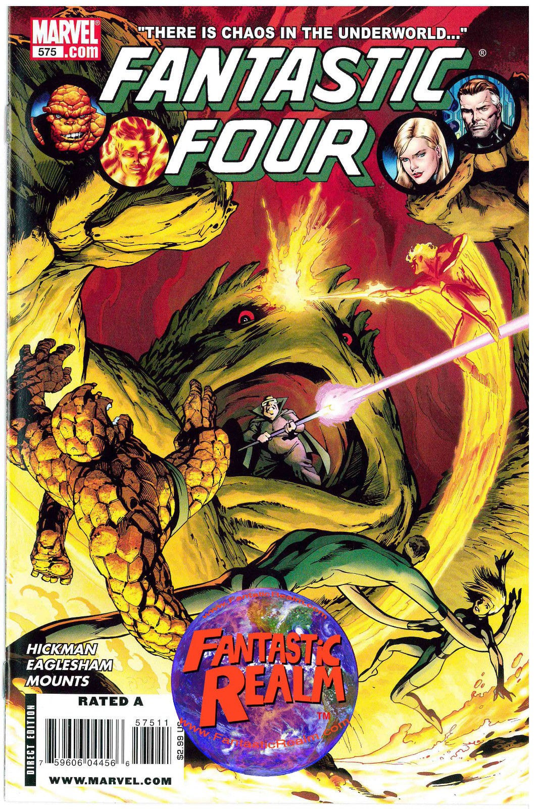 FANTASTIC FOUR #575 MARVEL COMICS