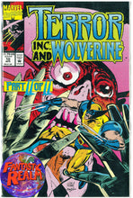 Load image into Gallery viewer, TERROR INC. AND WOLVERINE  #9, 10  PART 1 & 2  (1993) MARVEL COMICS