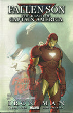 Load image into Gallery viewer, THE DEATH OF CAPTAIN AMERICA FALLEN SON IRON MAN #1 variant & reg