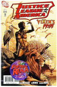 JUSTICE LEAGUE OF AMERICA #4: VIXEN'S PRIDE JONES VARIANT DC COMIC