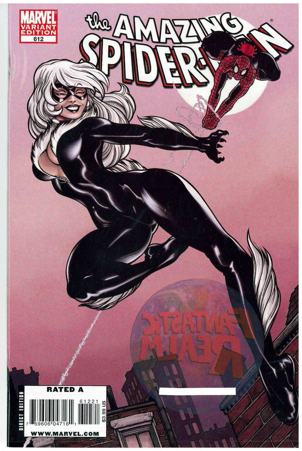 AMAZING SPIDER-MAN  #612 BLACK CAT VARIANT COVER