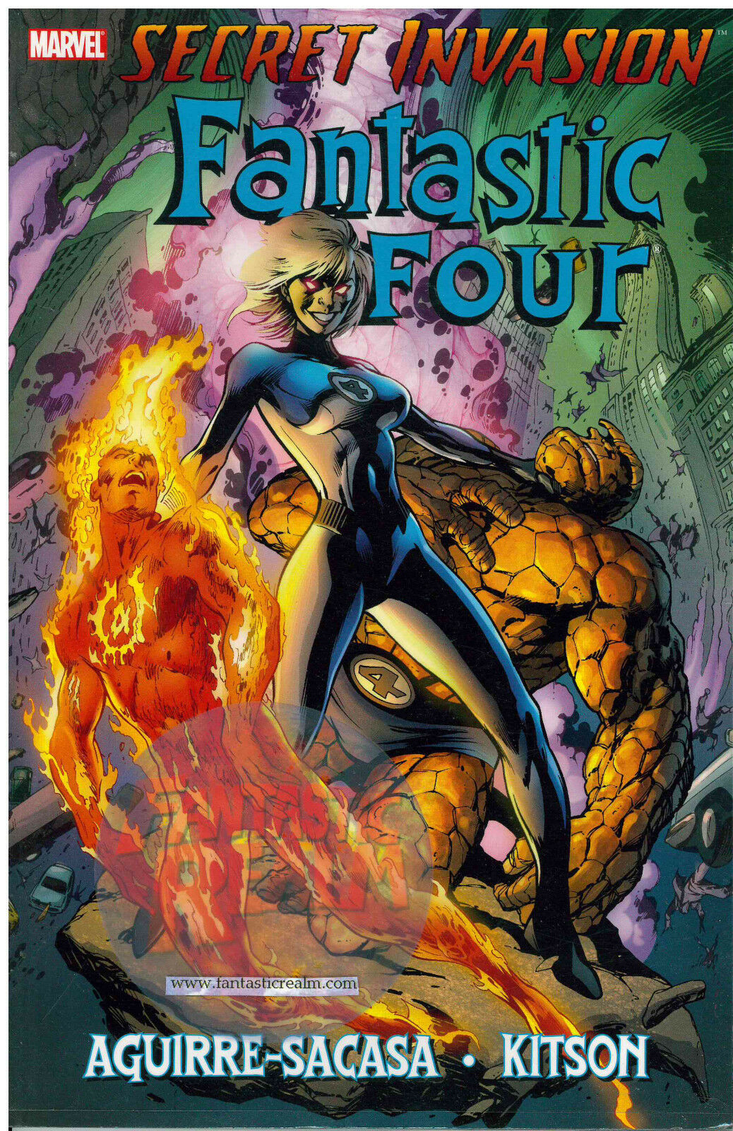 Fantastic Four: Secret Invasion Aguire-Sacasa Kitson Cover Marvel
