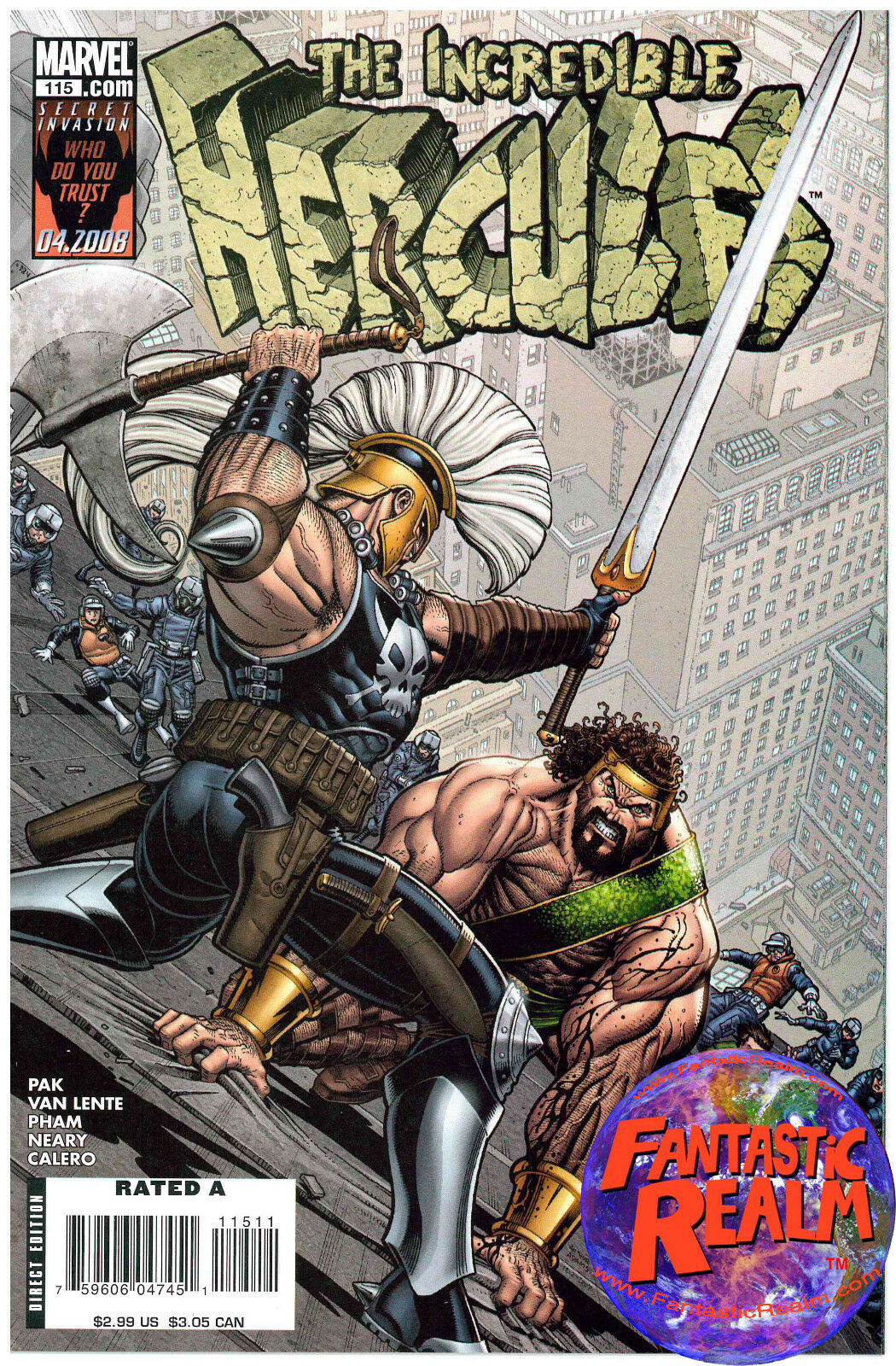 THE INCREDIBLE HERCULES #115 1ST PRINT MARVEL COMICS