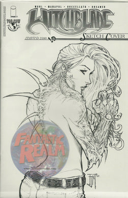 Witchblade # 70D Manapul Sketch Variant Cover 1 of 2500