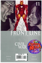 Load image into Gallery viewer, CIVIL WAR: FRONT LINE #9, 10, 11 (2006) MARVEL COMIC