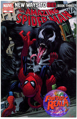 AMAZING SPIDER-MAN #570 VENOM MONKEY VARIANT MARVEL COMICS