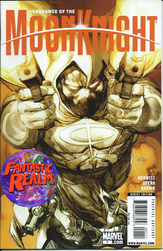 VENGEANCE OF THE MOON KNIGHT #1 1ST PRINT YU VARIANT (2009) MARVEL COMICS