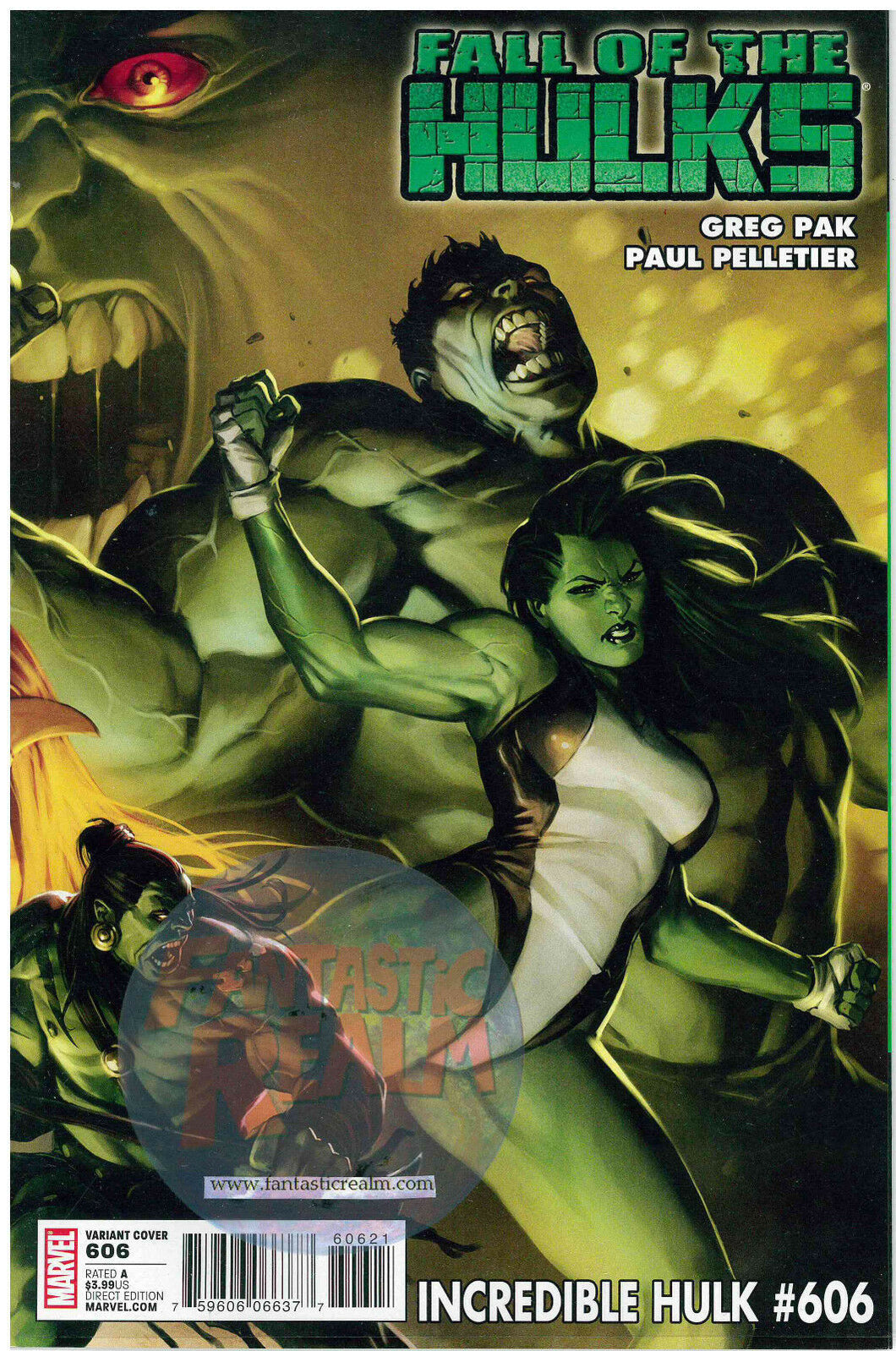 Incredible Hulk #606 Marko Djurdjevic Variant Fall of the Hulks
