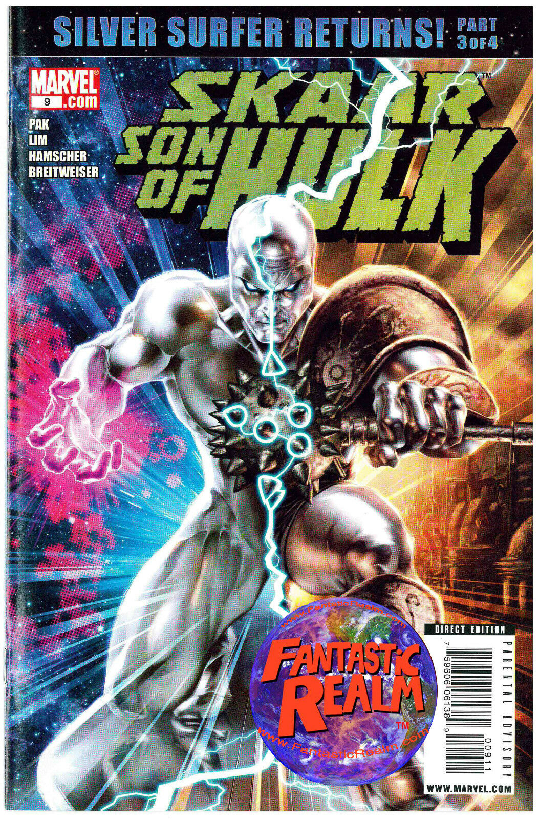 SKAAR: SON OF HULK #9 SILVER SURFER RETURNS MARVEL COMICS