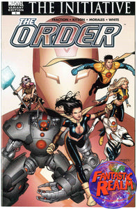 THE ORDER #1: THE INITIATIVE STANDARD & VARIANT COVER MARVEL COMICS