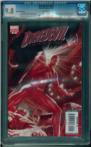DAREDEVIL #500 ALEX ROSS COVER VARIANT CGC 9.8