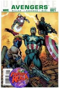 ULTIMATE AVENGERS #1, 2, 3 & 4 PACHECO COVERS MARVEL COMICS