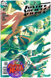 JUSTICE SOCIETY OF AMERICA #11 ALEX ROSS DC COMICS