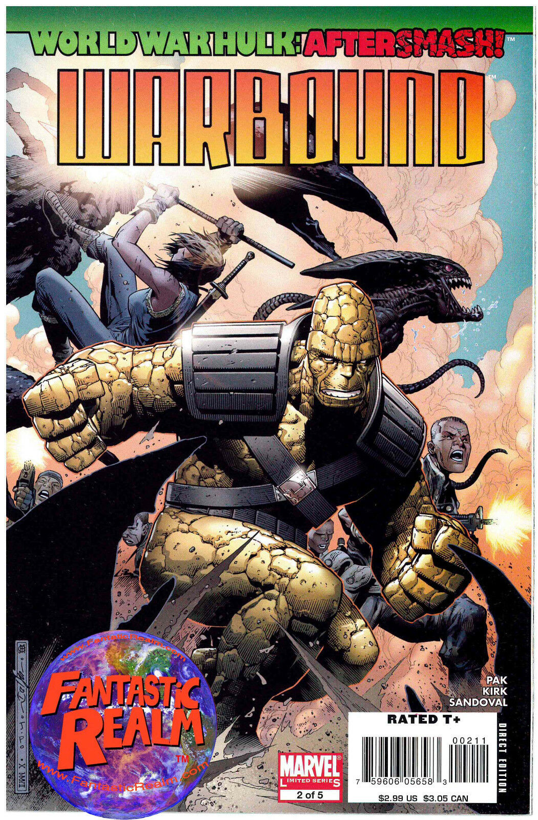 WARBOUND #2 OF 5 WORLD WAR HULK AFTERSMASH MARVEL COMICS