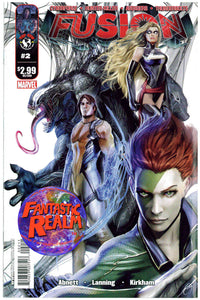 FUSION #2 & 3 IMAGE TOP COW (AVENGERS, CYBERFORCE, THUNDERBOLTS, HUNTER-KILLER)