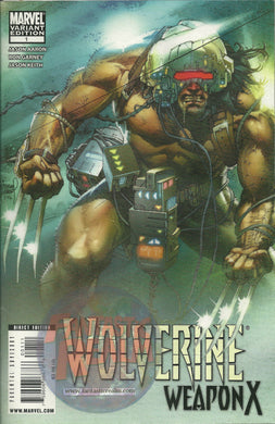 WOLVERINE WEAPON X #1 VARIANT & STANDARD ISSUE MARVEL COMICS
