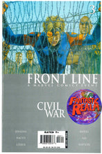 Load image into Gallery viewer, CIVIL WAR FRONT LINE #1, 2, 3 & 4 FIRST PRINT (2006) MARVEL COMIC