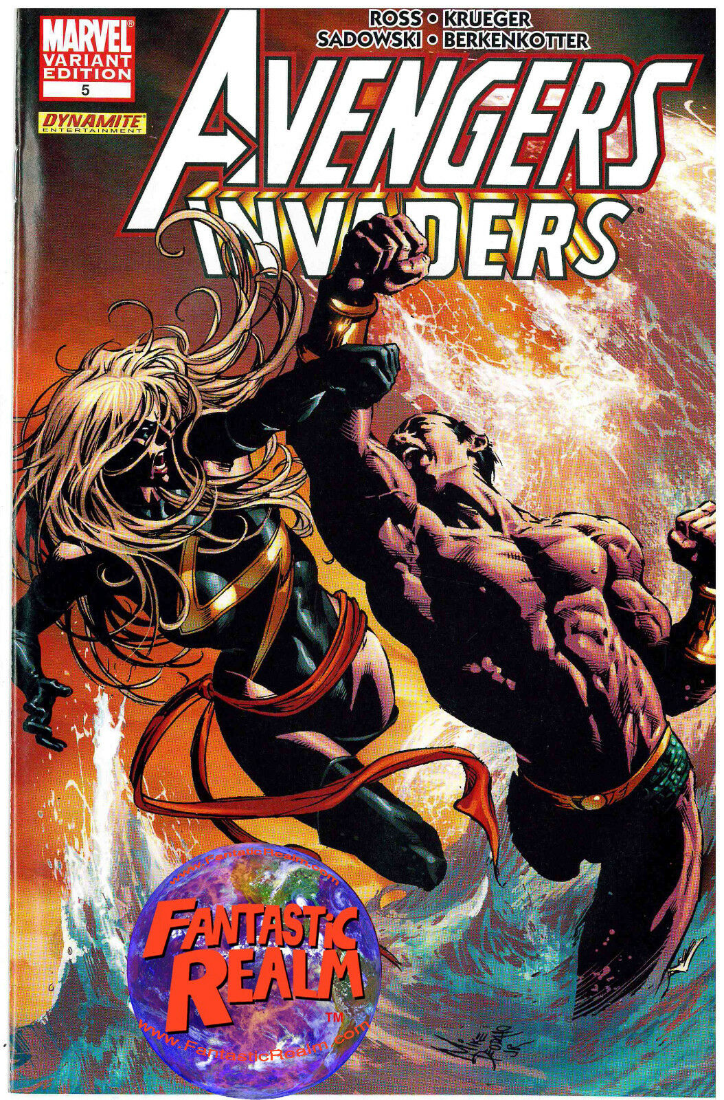 AVENGERS INVADERS #5 1ST PRINT MIKE DEODATO VARIANT MARVEL DYNAMITE COMICS