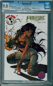 Witchblade #100 CGC 9.8 Turner Gold Foil (1 of 750)