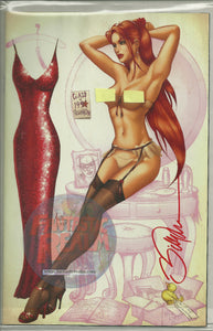 GRIMM FAIRY TALES #28 UGLY DUCKLING NUDE VARIANT SIGNED BY BILLY TUCCI  1 OF 500