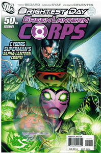 Green Lantern Corps #50B 1:25 Pat Gleason Brightest Day Variant DC