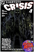 Load image into Gallery viewer, IDENTITY CRISIS #1, 1 SKETCH VARIANT, 2, 3, 4, 5, 6, 7 TURNER COVERS DC COMICS