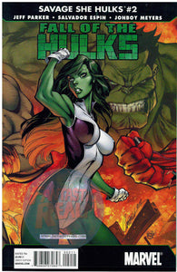 SAVAGE SHE-HULKS: FALL OF THE HULKS #1, 2 & 3 J. SCOTT CAMPBELL COVERS MARVEL