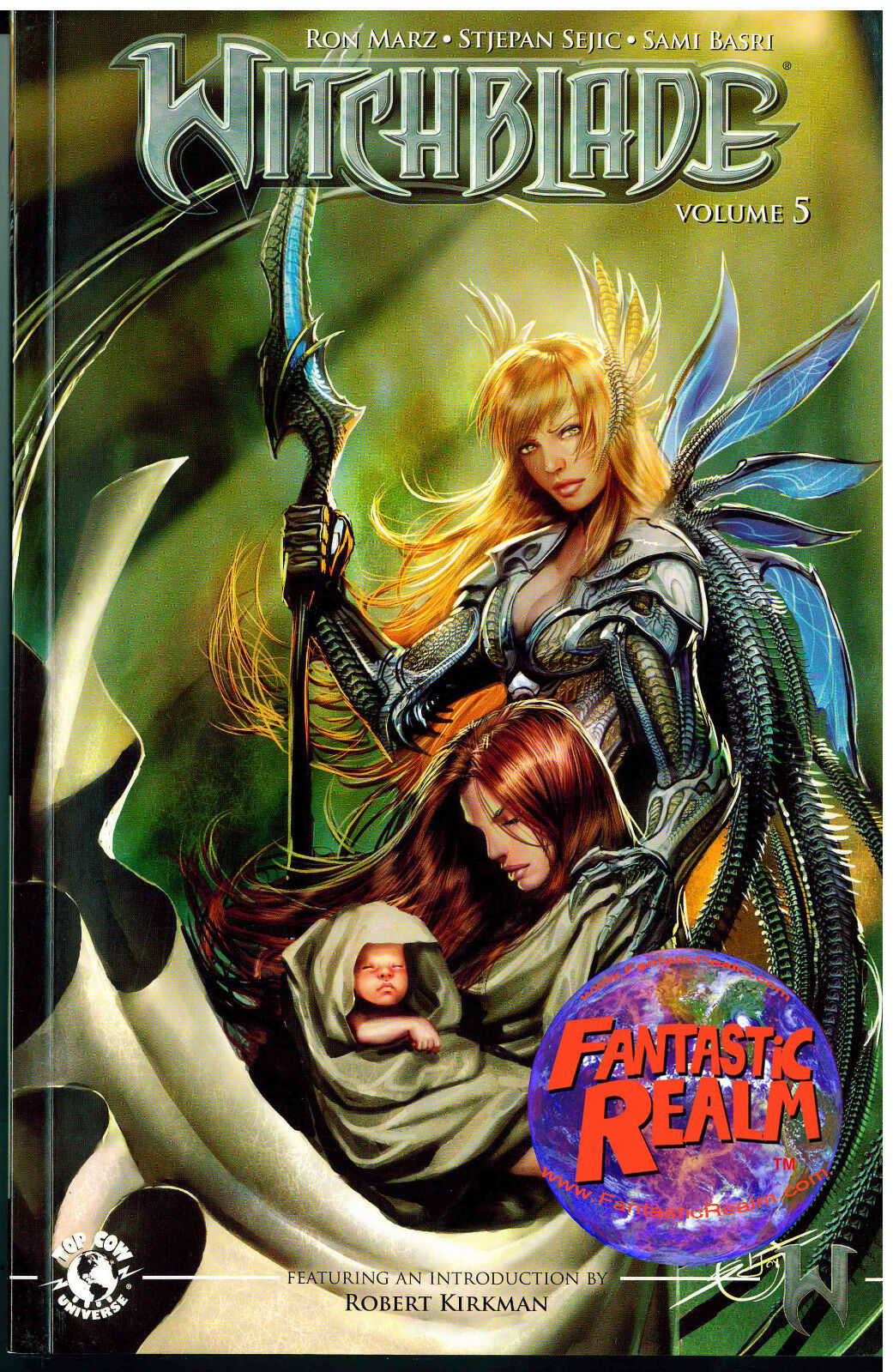 WITCHBLADE VOL #5 GRAPHIC NOVEL TPB TOP COW COMICS INTRO: ROBERT KIRKMAN
