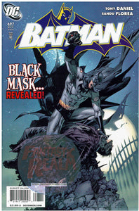 BATMAN #697-Black Mask-Tony Daniel (2010)