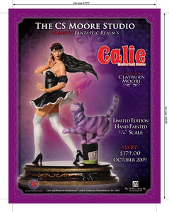 GRIMM FAIRY TALES WONDERLAND SOLD OUT CALLIE STATUE - CS MOORE 1 of 1200 (#25)