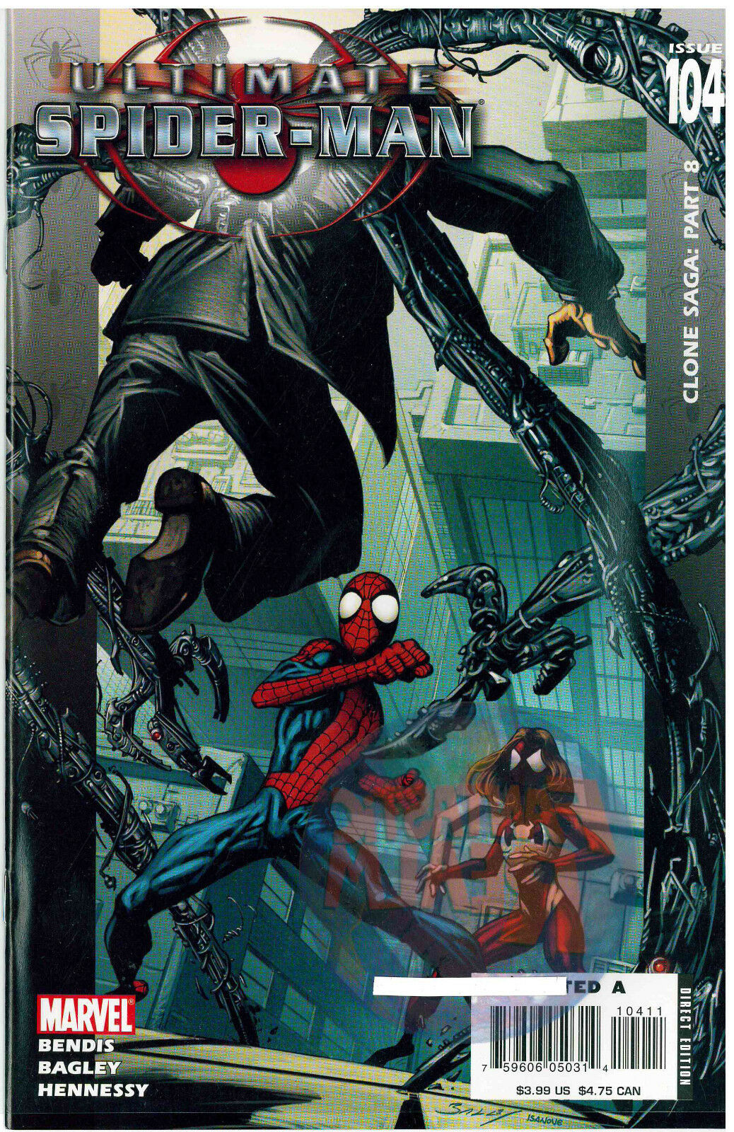 Ultimate Spider-Man #104  Clone Saga: part 8 Marvel Comics
