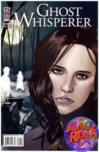 GHOST WHISPERER 1B IDW COMICS CBS TV SERIES TIE IN JENNIFER LOVE HEWITT