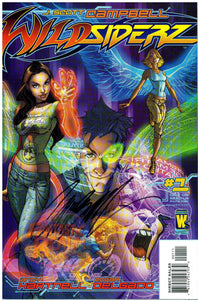 WILDSIDERZ #1A SIGNED J. SCOTT CAMPBELL