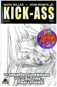 KICK-ASS #1B SKETCH VARIANT ICON COMICS