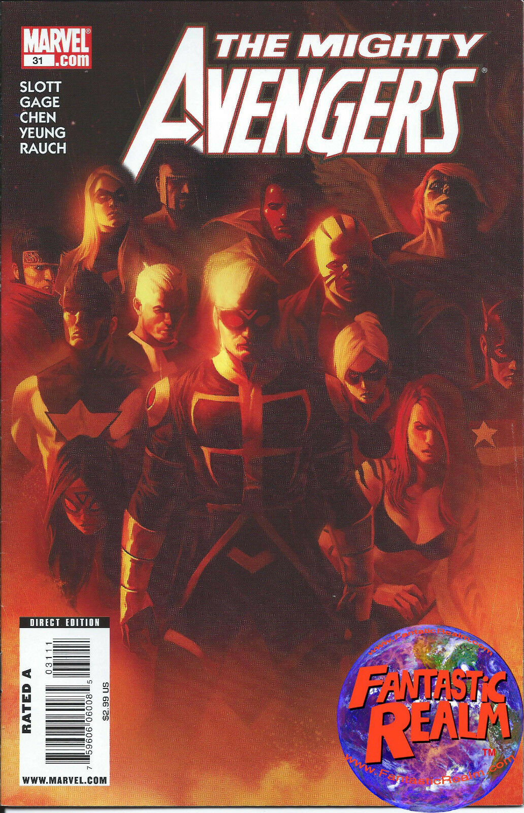THE MIGHTY AVENGERS #31 MARVEL COMICS