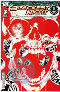 GREEN LANTERN BLACKEST NIGHT #1 RED VARIANT RRP EXCLUSIVE - 1 of 250