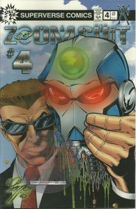 Zoom Suit #4 variant covers superverse comics