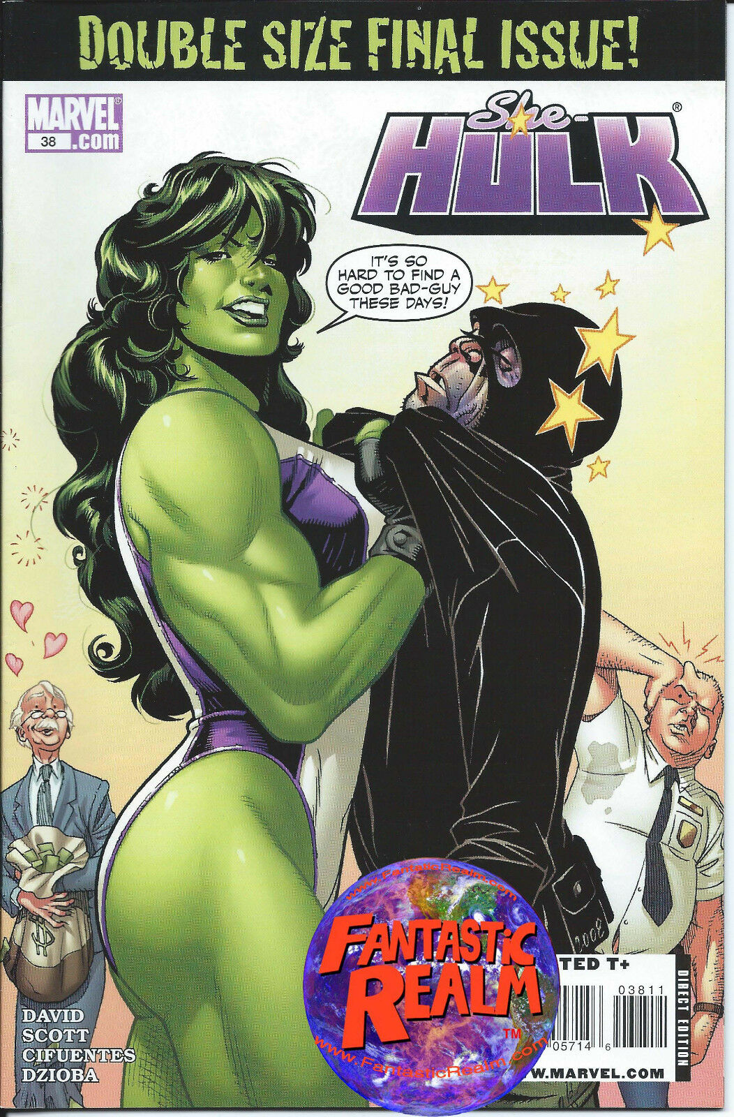 SHE-HULK #38 DOUBLE SIZE FINAL ISSUE MARVEL COMICS