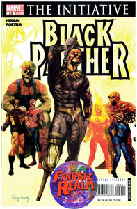 BLACK PANTHER #28 & 29 SUYDAM ZOMBIE COVER (2007) MARVEL COMICS