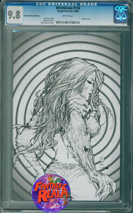 WITCHBLADE #118 SILVESTRI COVER FANTASTIC REALM CGC 9.8 IMAGE TOP COW COMICS